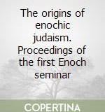 Origins Enochic Judaism